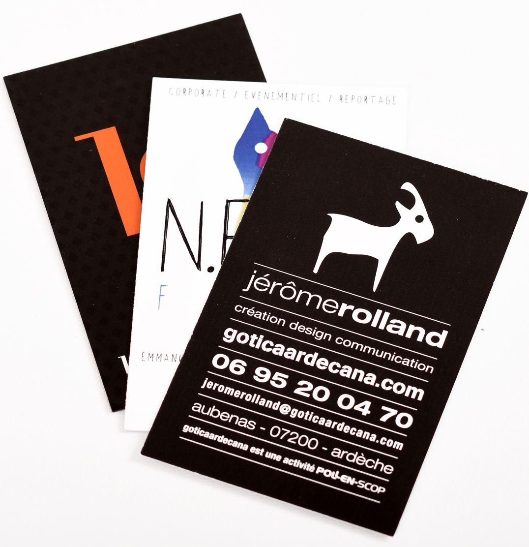 Carte De Visite Imprimerie Aubenas